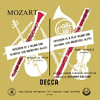 Anthony Collins – Mozart: Symphony No. 33; Minuet, KV 334; Clarinet Concerto; Bassoon Concerto [Anthony Collins Complete Decca Recordings, Vol. 1]