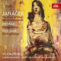 Přední strana obalu CD Janáček: Zápisník zmizelého - Dvořák: Biblické písně - Smetana: Večerní písně
