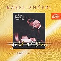 Přední strana obalu CD Ančerl Gold Edition 7. Janáček: Glagolská mše, Taras Bulba