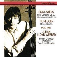 Julian Lloyd Webber, English Chamber Orchestra, Yan Pascal Tortelier – Saint-Saens: Cello Concerto No. 1; Allegro Appassionato / Honegger: Cello Concerto / Fauré: Elégie / D'Indy: Lied