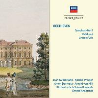 Dame Joan Sutherland, Norma Procter, Anton Dermota, Arnold van Mill – Beethoven: Symphony No.9; Overtures; Grosse Fugue