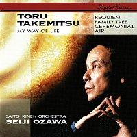 Přední strana obalu CD Takemitsu: Requiem; Family Tree; My Way Of Life