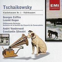 Georges Cziffra, Philharmonia Orchestra, André Vandernoot – Tschaikowsky: Klavierkonzert Nr. 1 Op. 23/Violinkonzert Op. 35