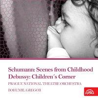 Přední strana obalu CD Schumann: Dětské scény - Debussy: Dětský koutek
