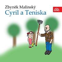 Přední strana obalu CD Malinský: Cyril a Teniska