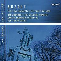 Jack Brymer, London Symphony Orchestra, Sir Colin Davis, Allegri String Quartet – Mozart: Clarinet Concerto & Clarinet Quintet