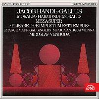 Přední strana obalu CD Handl-Gallus: Moralia, Harmoniae morales, Missa super...