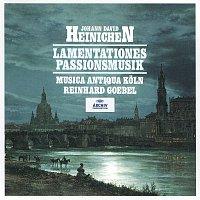 Přední strana obalu CD Heinichen: Lamentationes / Passionsmusik