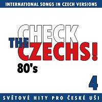 Přední strana obalu CD Check The Czechs! 80. léta - zahraniční songy v domácích verzích 4.