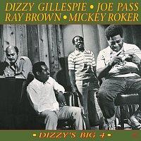 Přední strana obalu CD Dizzy's Big 4 [Original Jazz Classics Remasters]
