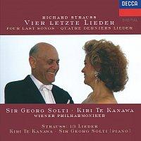 Kiri Te Kanawa, Sir Georg Solti, Wiener Philharmoniker – Strauss, R.: Vier letzte Lieder; Die Nacht; Allerseelen etc.