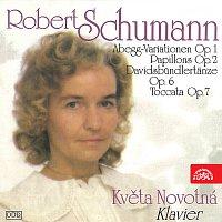 Květa Novotná – Schumann: Abegg-Variationen, Papillons, Davidsbündlertänze, Toccata