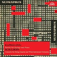 Přední strana obalu CD Kaprálová: Partita pro smyčcové kvarteto, Schulhoff: Koncert pro smyčcové kvarteto