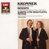 Sabine Meyer, Wolfgang Meyer, Wurttembergisches Kammerorchester Heilbronn, Jorg Faerber – Krommer: Concertos for 2 Clarinets and Orchestra Op.35 & Op.91 / Rossini: Variations