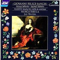 Přední strana obalu CD Sances: Missa Solicita; Sacred Motets