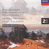 Victoria Postnikova, Wiener Symphoniker, Gennadi Rozhdestvensky, Kyung Wha Chung – Tchaikovsky: Piano Concerto Nos. 1-3/Violin Concerto [2 CDs]