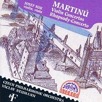 Josef Suk, Česká filharmonie, Václav Neumann – Martinů: Koncerty pro housle č. 1 a 2, Rapsodie pro violu