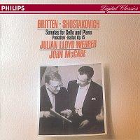 Julian Lloyd Webber, John McCabe – Britten/Shostakovich: Cello Sonatas//Prokofiev: Ballade, Op.50