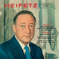 Jascha Heifetz – Rosza: Violin Concerto, Op. 24, Spohr: Violin Concerto No. 8, Op. 47 in A Minor, Tchaikovsky: Sérénade mélancolique, Op. 26