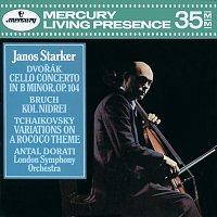 János Starker, London Symphony Orchestra, Antal Dorati – Dvorák: Cello Concerto / Bruch: Kol Nidrei / Tchaikovsky: Variations on a Rococo Theme