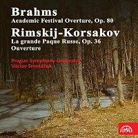 Symfonický orchestr hl. m. Prahy (FOK), Václav Smetáček – Brahms: Akademická slavnostní předehra, Rimskij-Korsakov: Ruské velikonoce