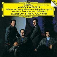 Emerson String Quartet, Mary Ann McCormick – Webern: Works for String Quartet; String Trio Op.20