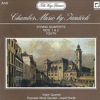 Vlachovo kvarteto, Foerstrovo dechové kvinteto – Janáček: Smyčcové kvartety č. 1 a 2., Mládí. Suita pro flétnu (pikolu), hoboj, klarinet, lesní roh, fagot a basklarinet