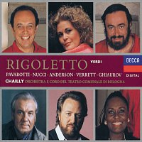 June Anderson, Luciano Pavarotti, Leo Nucci, Nicolai Ghiaurov, Riccardo Chailly – Verdi: Rigoletto [2 CDs]
