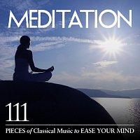 Přední strana obalu CD Meditation: 111 Pieces of Classical Music to Ease Your Mind