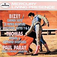 Detroit Symphony Orchestra, Paul Paray – Bizet: Carmen Suite/La Patrie Overture/L'arlésienne Suite Thomas: Mignon & Raymond Overtures