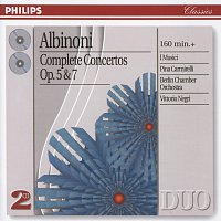 Přední strana obalu CD Albinoni: Complete Concertos Op.5 & Op.7