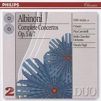 I Musici, Pina Carmirelli, Berlin Chamber Orchestra, Vittorio Negri – Albinoni: Complete Concertos Op.5 & Op.7