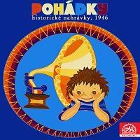 Přední strana obalu CD Pohádky (historické nahrávky, 1946)