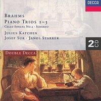 Josef Suk, János Starker, Julius Katchen – Brahms: Piano Trio Nos. 1-3/Cello Sonata No.2/Scherzo