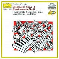 Přední strana obalu CD Chopin: Polonaises Nos. 1-6; Piano Sonata No. 3