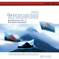 Kurt Masur, Gewandhausorchester Leipzig – Richard Strauss: Eine Alpensinfonie; Horn Concerto No. 2