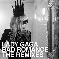 Přední strana obalu CD Bad Romance Remixes