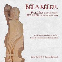 Přední strana obalu CD Kéler: Valčíky pre husle a klavír