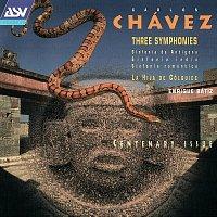 Přední strana obalu CD Chavez: 3 Symphonies; La Hija de Colquide