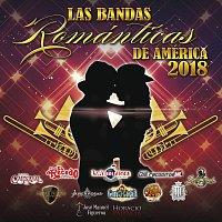 Přední strana obalu CD Las Bandas Románticas De América 2018