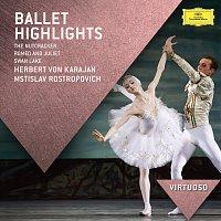 Berliner Philharmoniker, Herbert von Karajan, Mstislav Rostropovich – Ballet Highlights - The Nutcracker, Romeo & Juliet, Swan Lake
