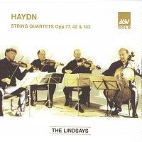 Přední strana obalu CD Haydn: String Quartets, Op.77 Nos 1 & 2; Op.42; Op.103