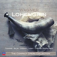 Jess Thomas, Anja Silja, Orchester der Bayreuther Festspiele, Wolfgang Sawallisch – Wagner: Lohengrin [3 CDs]