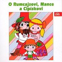 Přední strana obalu CD Čtvrtek: O Rumcajsovi, Mance a Cipískovi