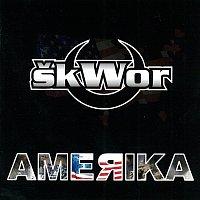 Přední strana obalu CD Amerika