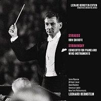 Leonard Bernstein, Richard Strauss, New York Philharmonic Orchestra, David Nadien, William Lincer, Lorne Munroe – Strauss: Don Quixote, Op. 35 - Stravinsky: Concerto for Piano and Wind Instruments