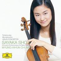 Přední strana obalu CD Tchaikovsky & Mendelssohn: Violin Concertos