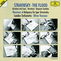 Susan Bickley, David Wilson-Johnson, Stephen Richardson, Peter Hall, Lucy Shelton – Stravinsky: The Flood; Abraham and Isaac; Variations; Requiem Canticles / Wuorinen: A Reliquary for Igor Stravinsky