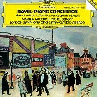 Michel Beroff, Martha Argerich, London Symphony Orchestra, Claudio Abbado – Ravel: Piano Concertos