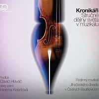 Přední strana obalu CD Kronikáři/Stručné dějiny světa v muzikálu